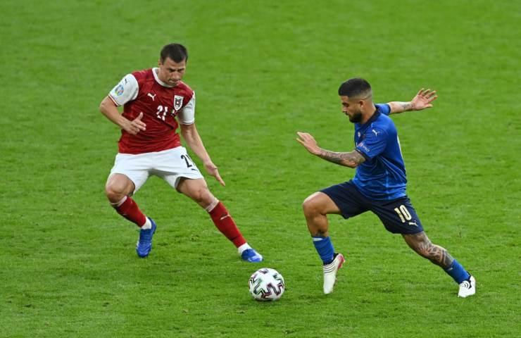 Italia Austria ottavi Euro 2020