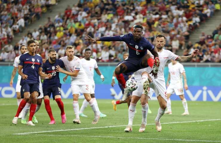 Francia Svizzera Euro 2020