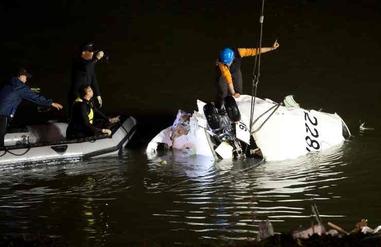 Disastri aerei, Volo TransAsia Airways 235: