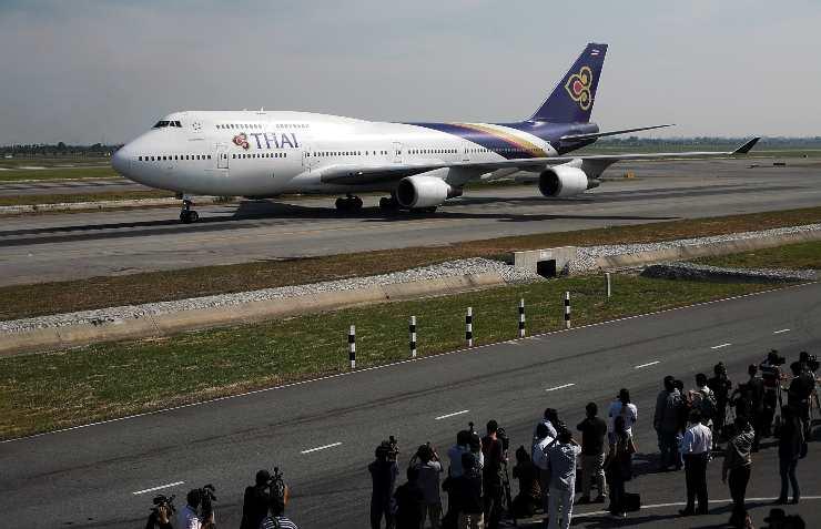 Disastri aerei, Volo Thai Airways International 311