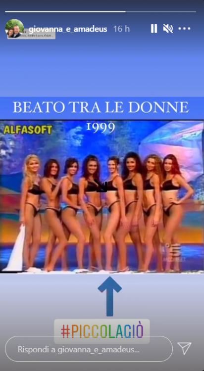 Giovanna Civitillo in bikini nero