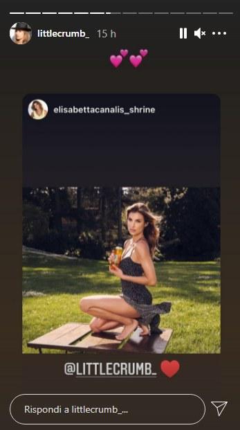 L'attrice Elisabetta Canalis
