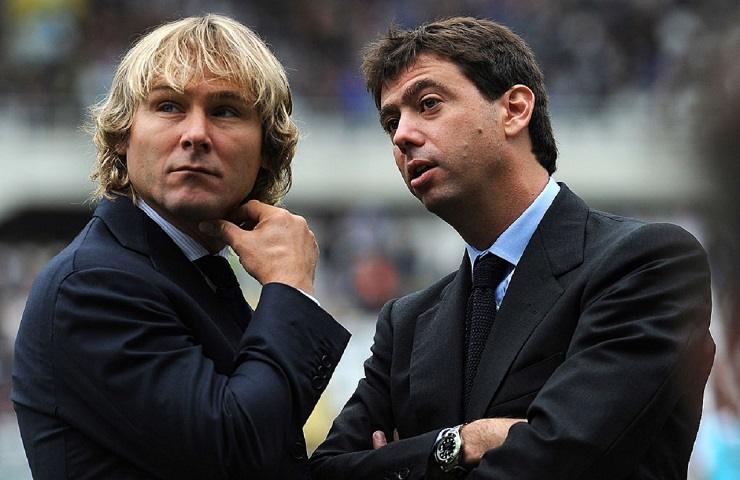 Juventus Nedved e Agnelli