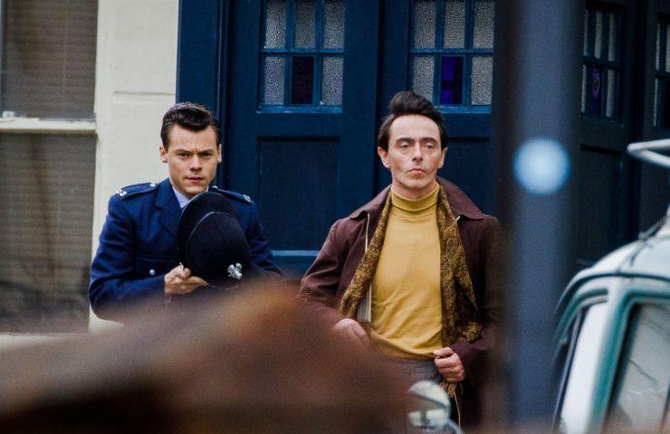 Harry Styles e David Dawson
