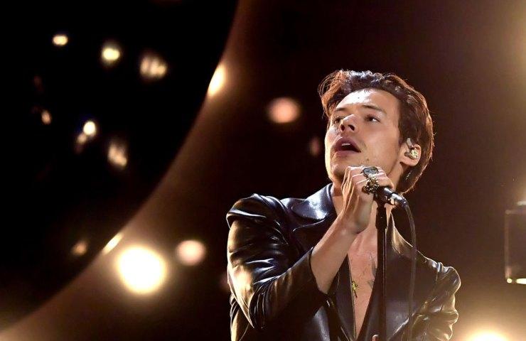 Harry Styles sul palco
