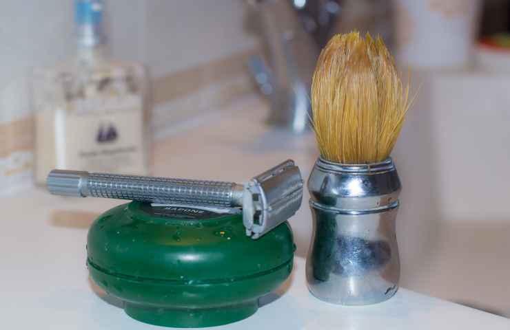 creare schiuma da barba fai da te