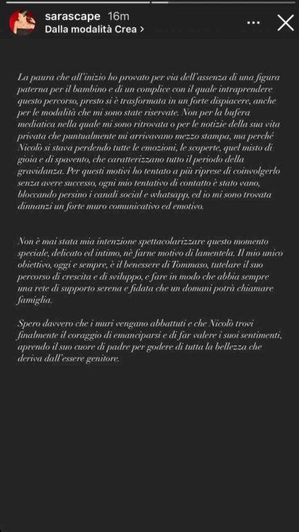 ex Nicolò Zaniolo, Sara Scaperrotta rimpe silenzio