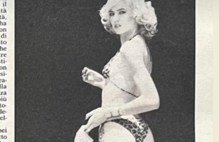 Alba Parietti confronto 60 e 17 anni