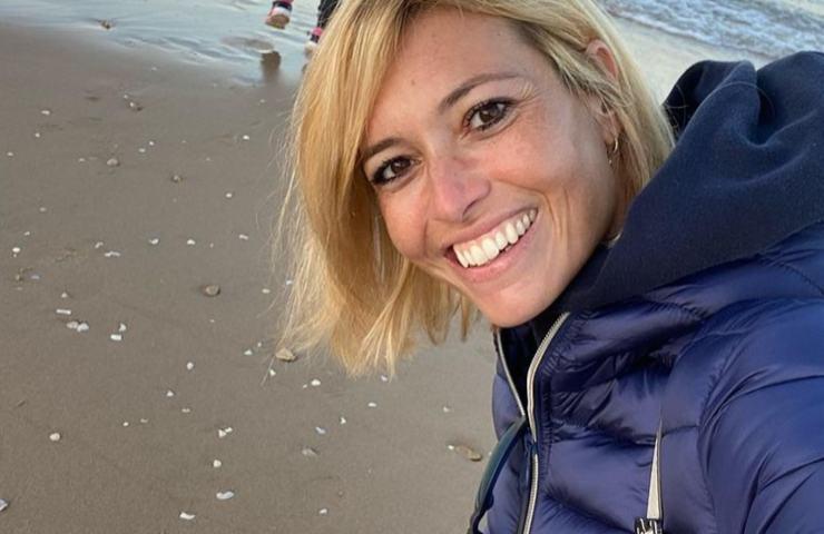 Carlotta Mantovan foto mare Fabrizio Frizzi nostalgia