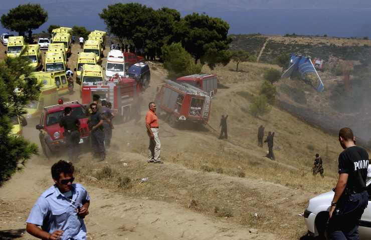 Disastri aerei, volo Helios Airways 522: 121 vittime