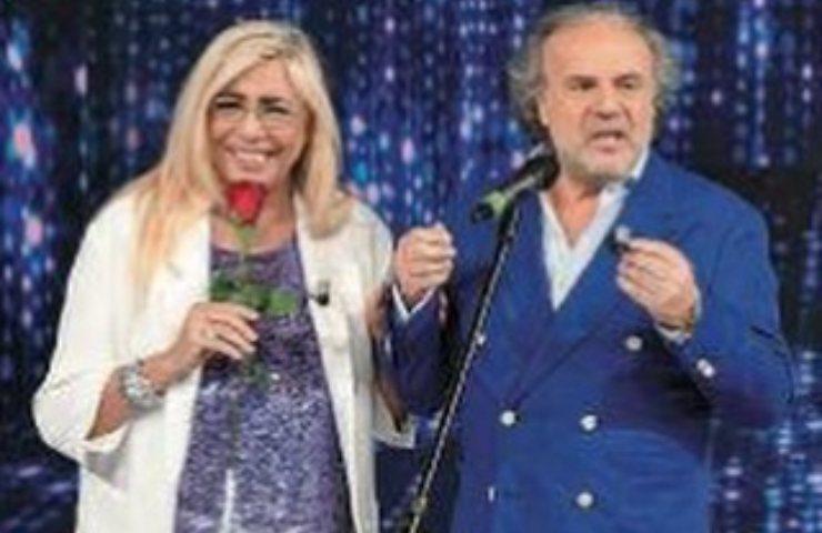 Jerry Calà, Mara Venier compleanno arena di Verona