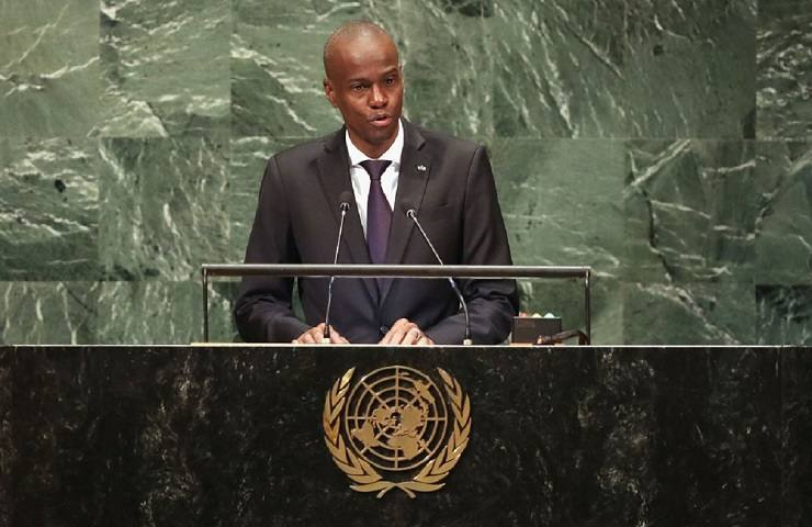 Presidente di Haiti Jovenel Moïse