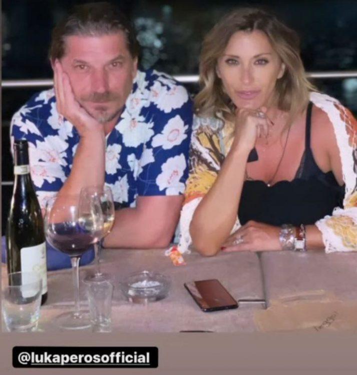 Sabrina Salerno bikini vacanza Capri