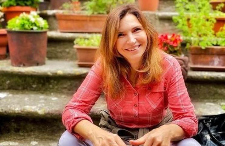 Maria Pia Calzone bellissima in barca foto
