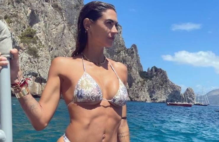 Melissa Satta segreto di bellezza
