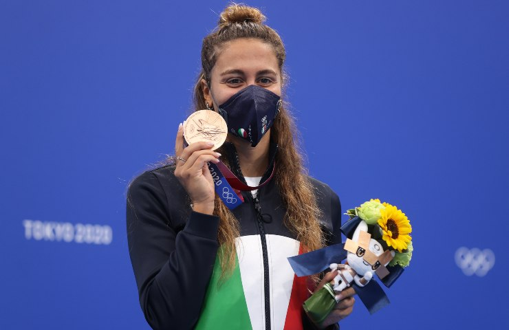 Tokyo 2020 due medaglie bronzo Italia