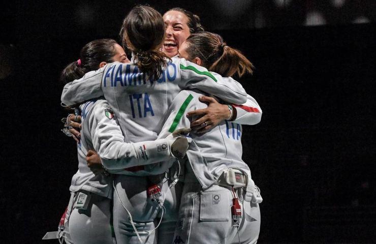 Rossella Fiamingo scherma olimpiadi tokyo 2021