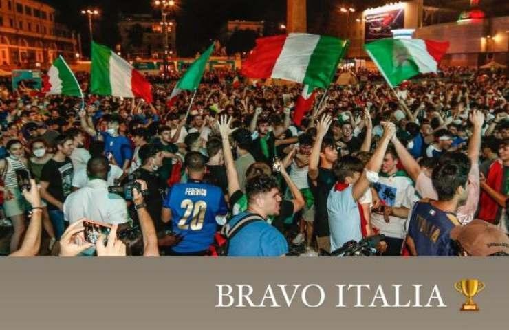 Tifo Italia, Sharon Stone Euro 2020