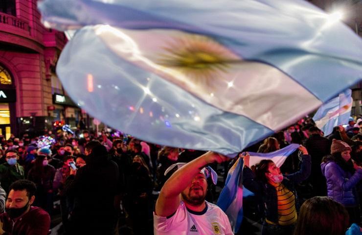 Tifosi argentini
