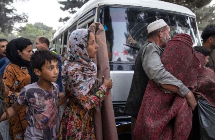 Afghanistan kabul talebani evacuare