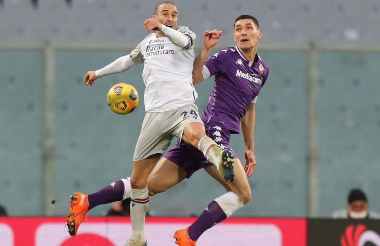 Juventus cherubini rivoluzione viola Milenkovic