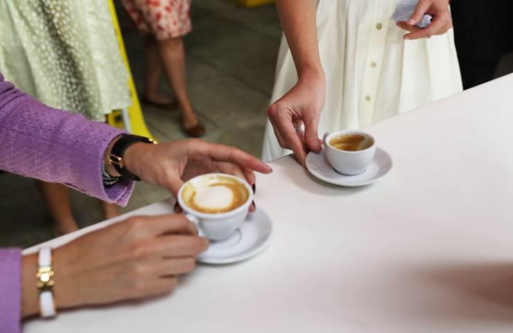 Caffè quanto spendono italiani