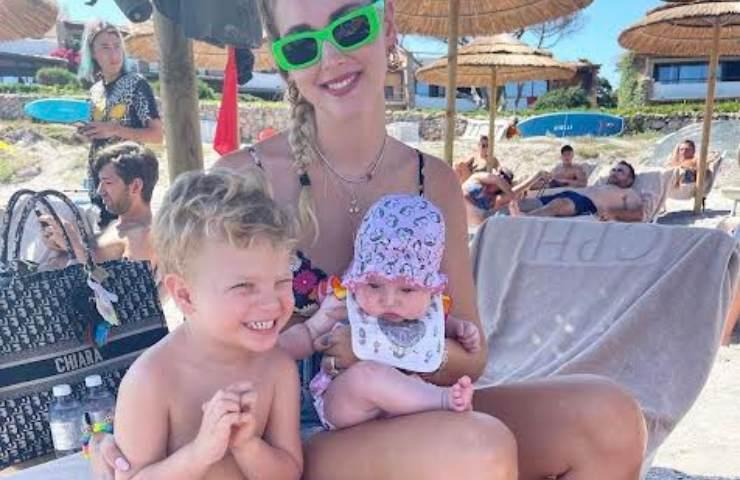 Chiara Ferragni e i suoi figli