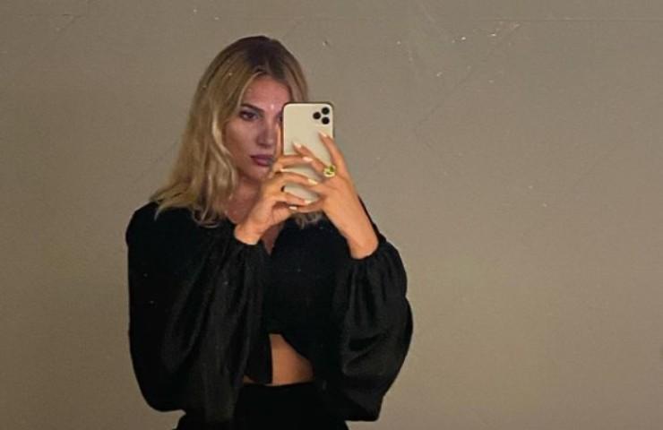 Cristina Musacchio selfie bollente