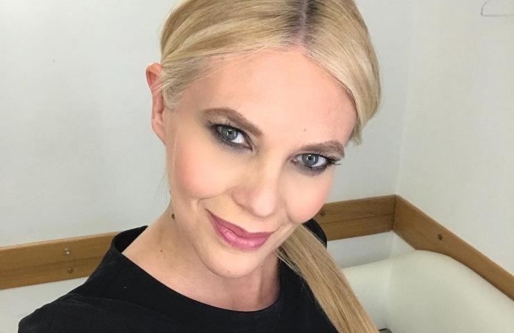 Eleonora Daniele senza trucco