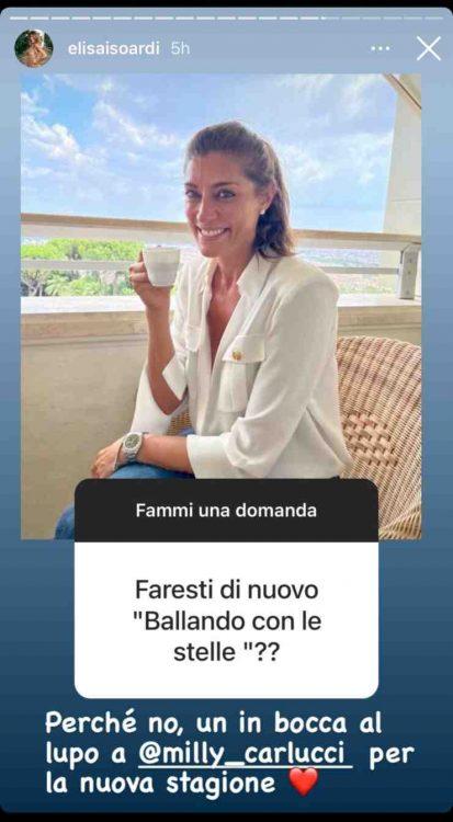 """Elisa Isoardi """"Ballando con le stelle"""""""