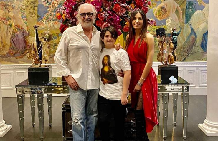 Elisabetta Gregoraci Flavio Briatore foto instagram