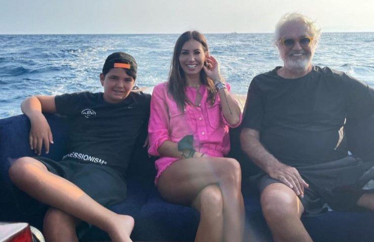 Flavio Briatore vacanze famiglia