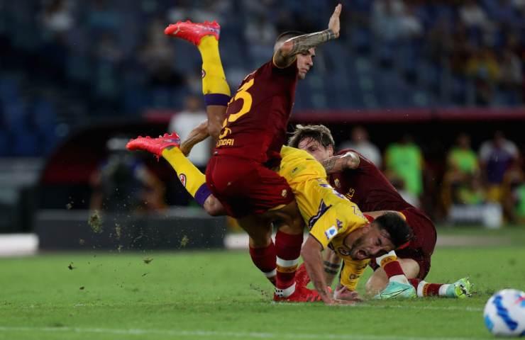 Roma Fiorentina Serie A