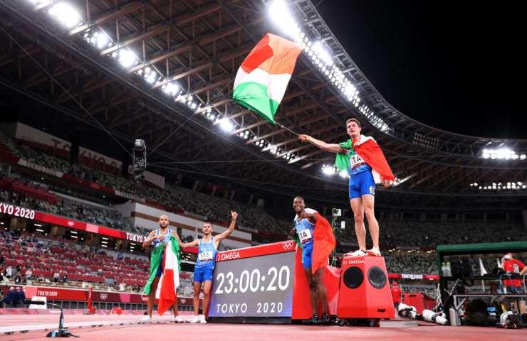 Olimpiadi 4x100 oro