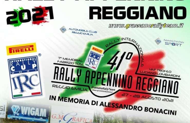 Rally Appennino Reggiano incidente