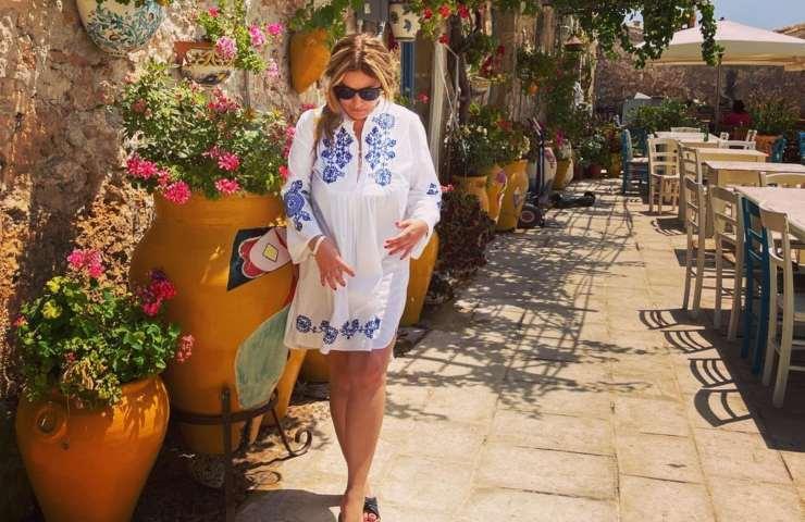 Selvaggia Lucarelli vacanza Sicilia