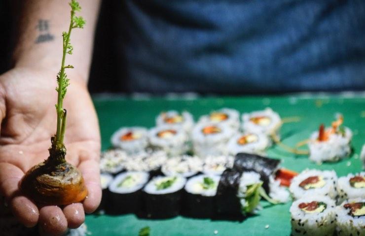 Sushi torino denuncia rivoltante sorpresa
