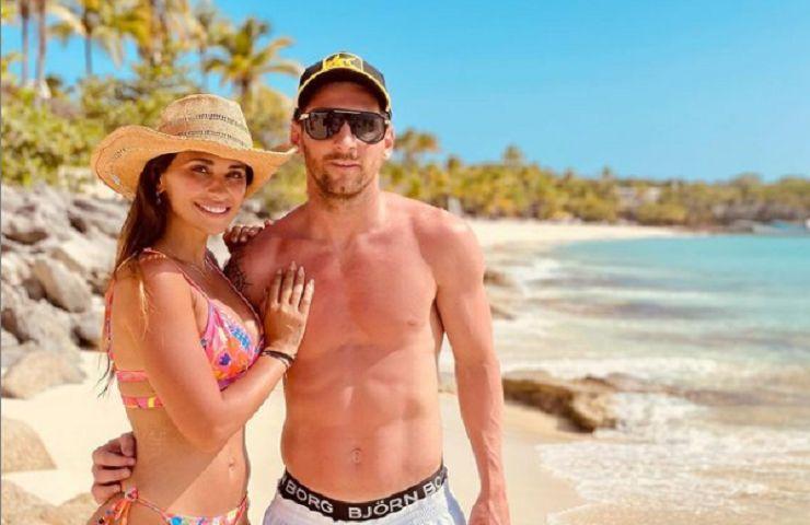Messi moglie a Miami