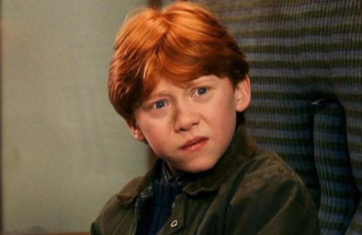 Ron Weasley Harry Potter oggi