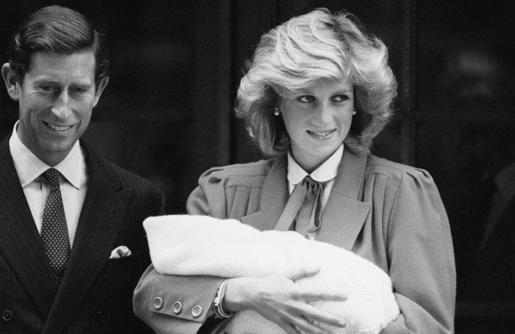 Lady Diana harry William toccante