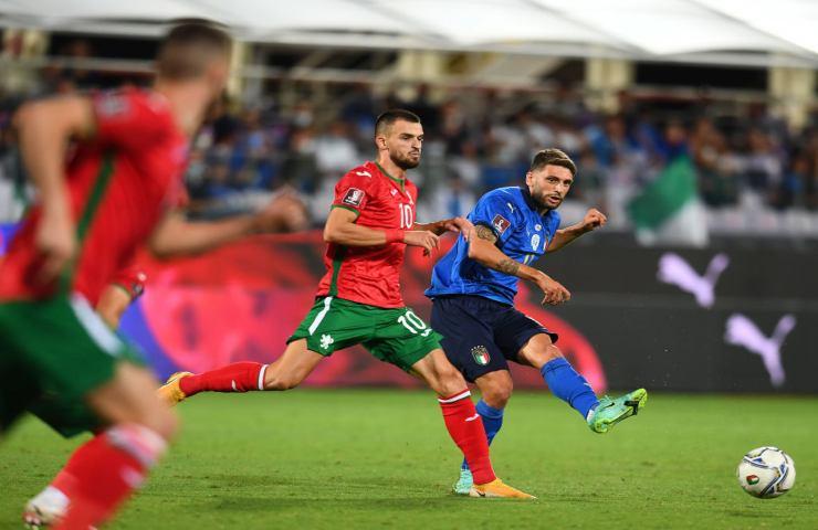 Italia Bulgaria qualificazioni Qatar 2022