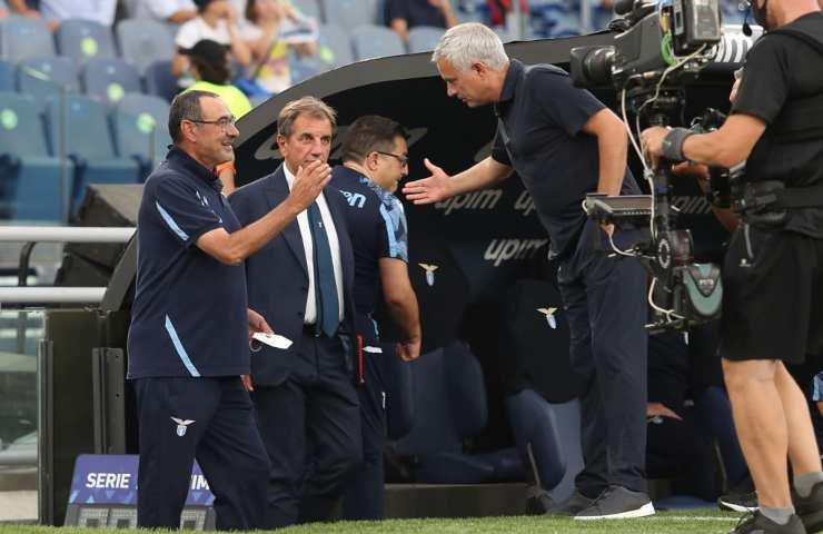 Sarri Mourinho derby
