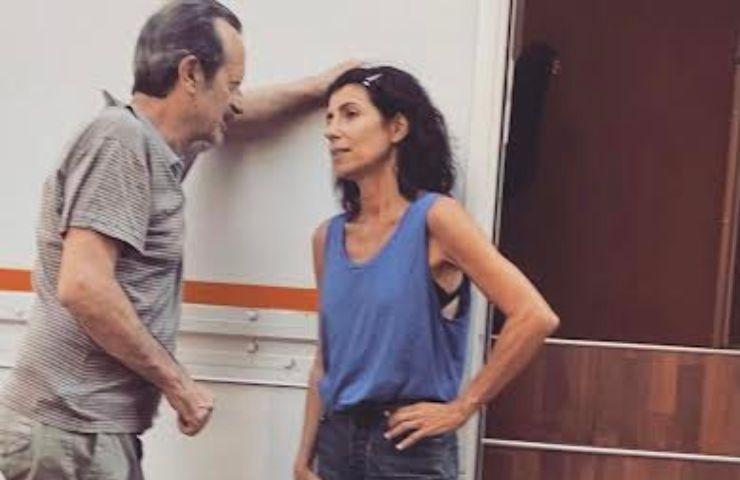 Giorgia e Rocco Papaleo