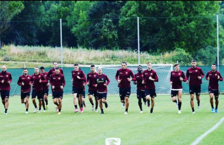 I calciatori della Salernitan