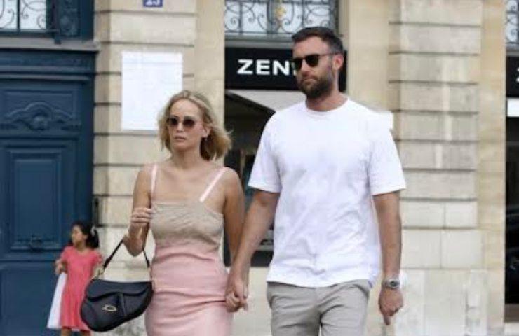 Jennifer Lawerence e marito