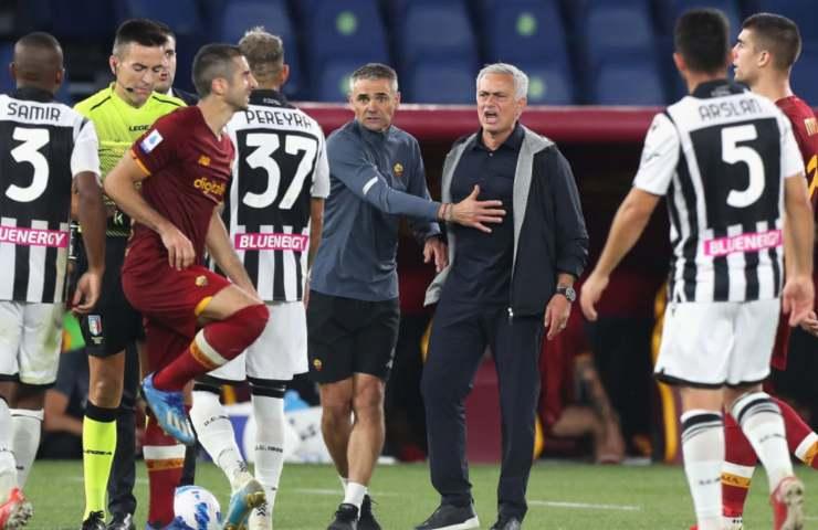 Roma Mourinho derby