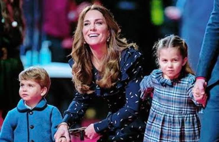 Kate Middleton e figli