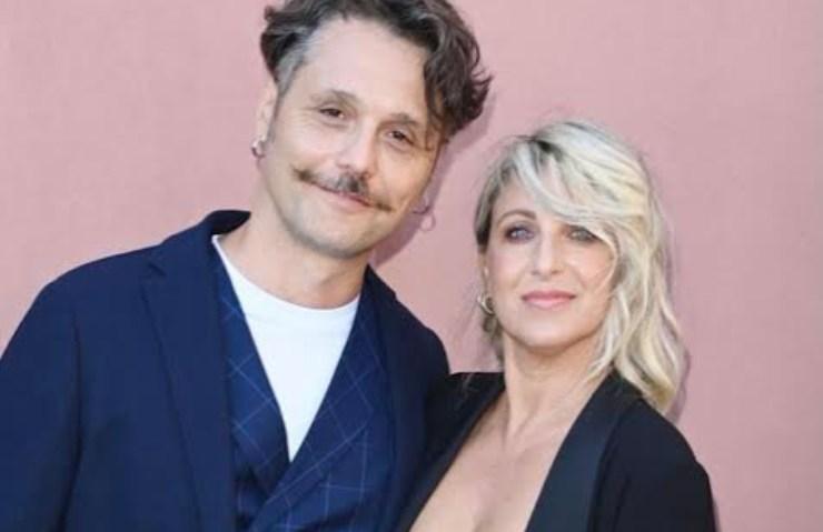 Katia Follesa e marito