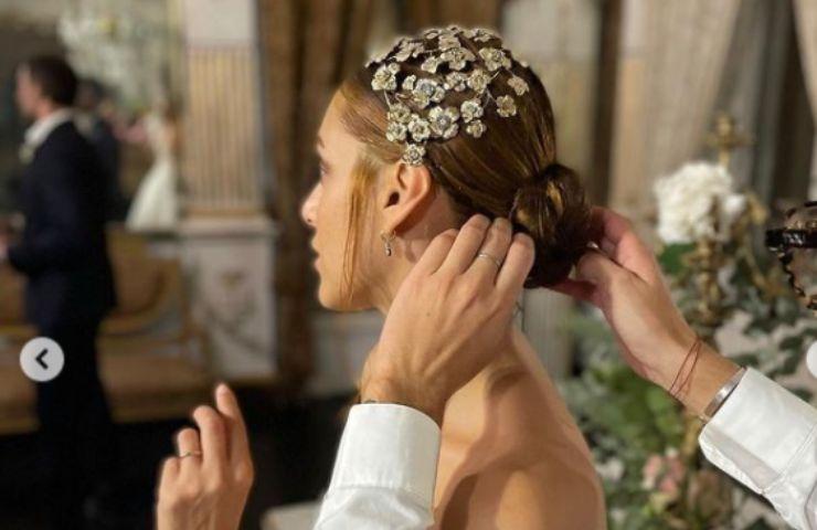 Miriam Leone abito sposa