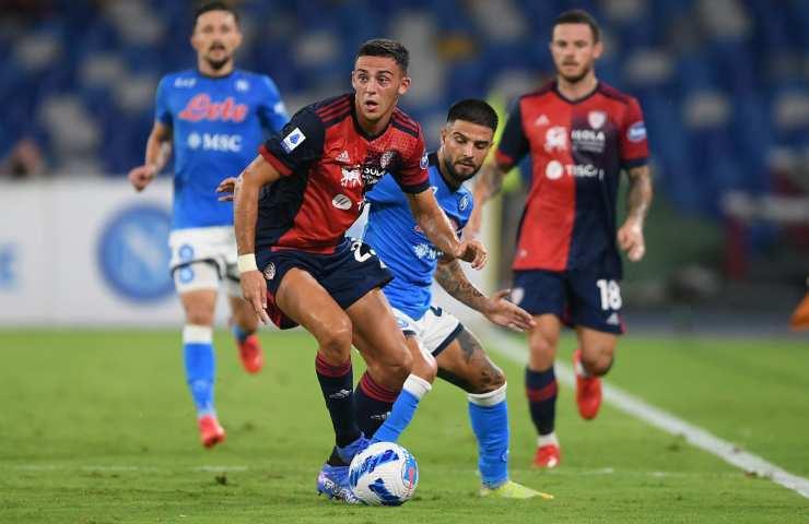 partita Napoli-Cagliari
